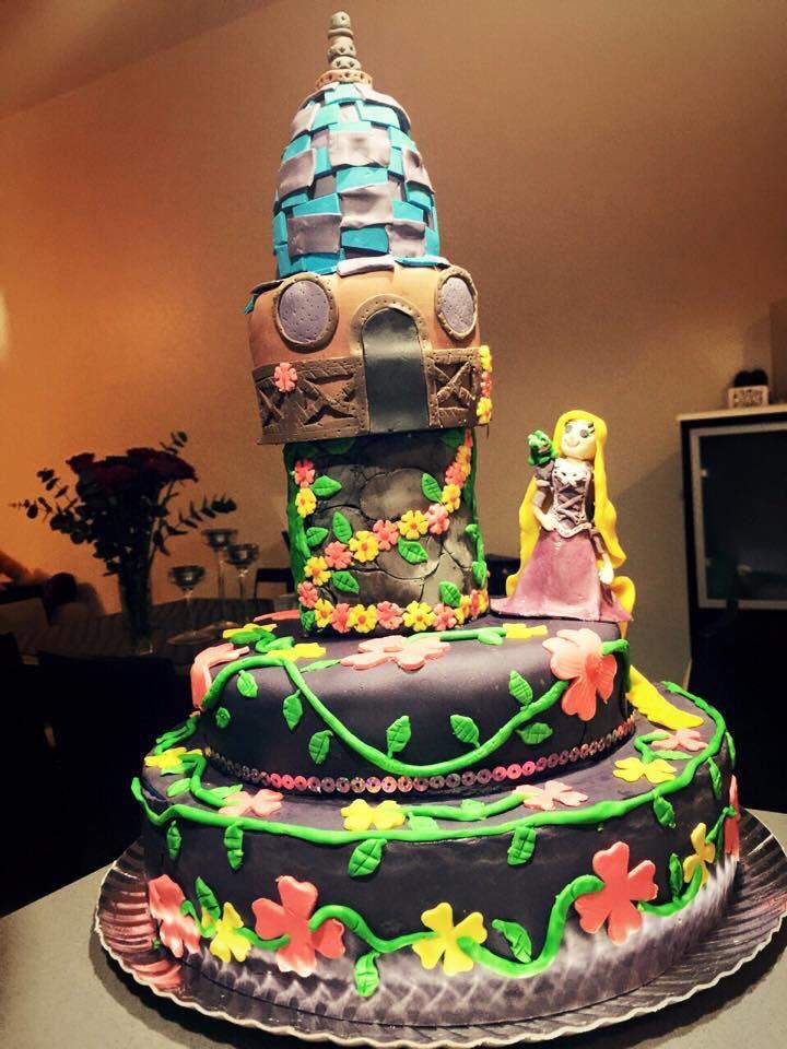 Rapuncel Cake